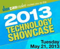 Tecom at Duncan Video Spring Technology Showcase 2013, May 21, 2013, Carmel, IN